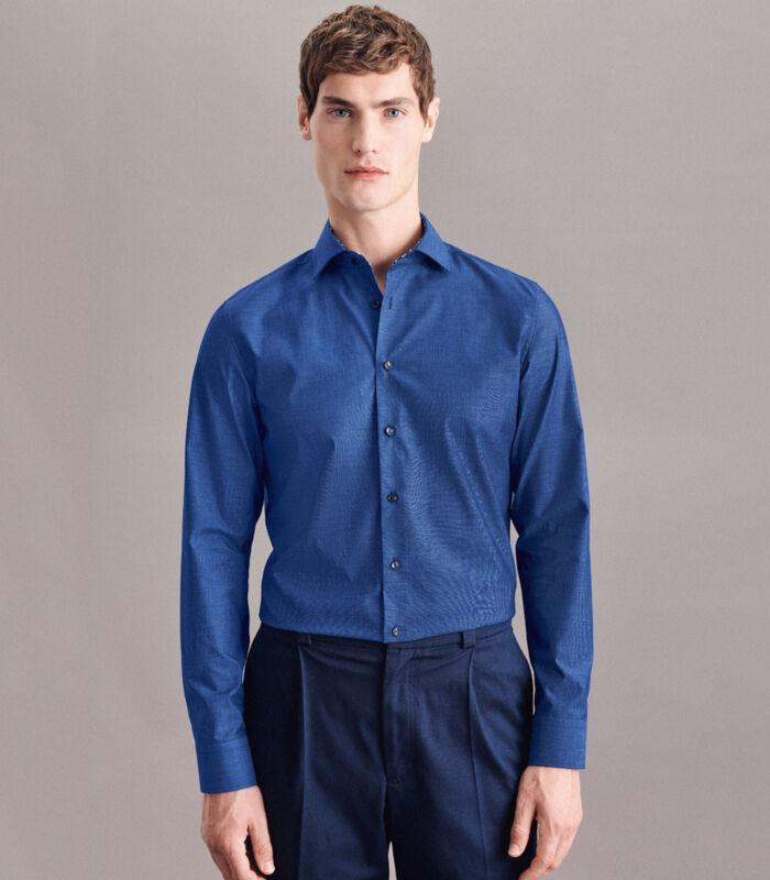 Overhemd Slim Fit Lange mouwen Uni image number 0