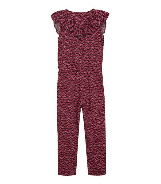 Mouwloze Printed Playsuit
