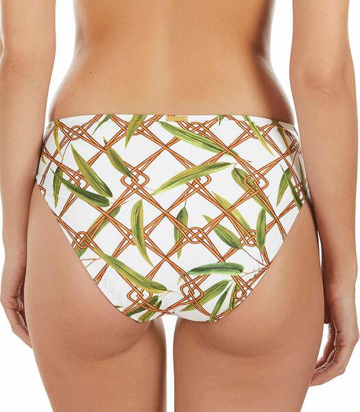 Bikinibroekje Bambu wit