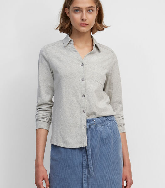 Jersey blouse van organic cotton
