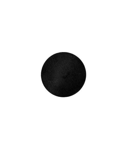 ELLIS sous-verre rond noir