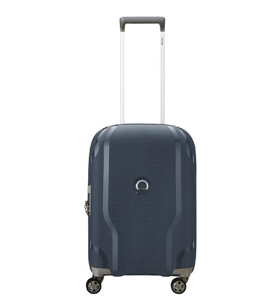 Clavel 4 Wheel Cabin Trolley Expandable blue
