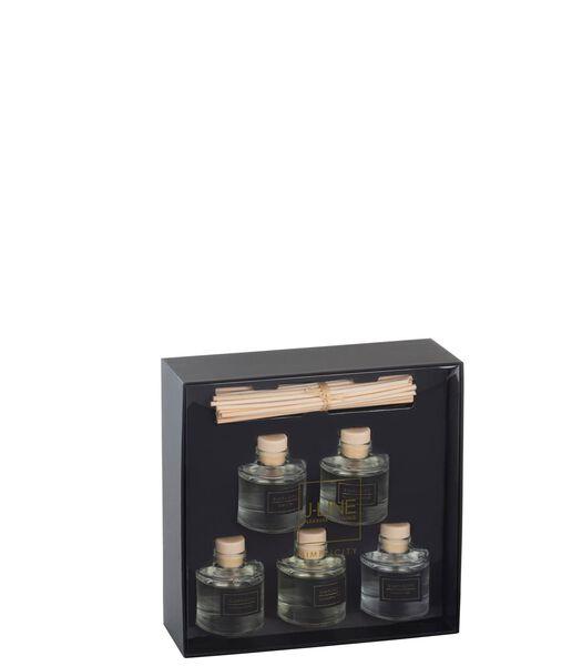 Boite De 5 Huiles Parfumees Simplicity Noir/Or