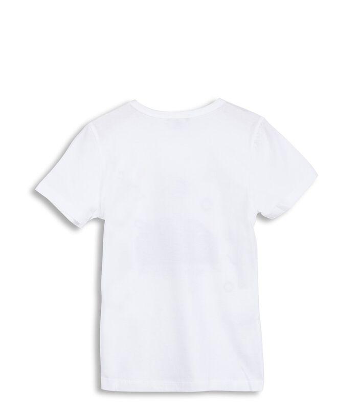 T-shirt met motief image number 1