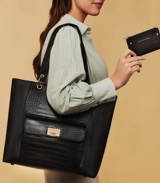 The Daily Shopper zwart MS90005