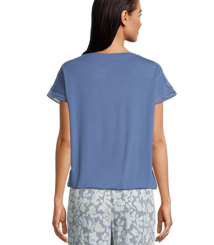 Casual shirt met print image number 1
