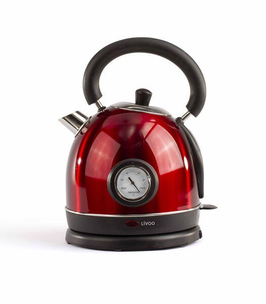 Bouilloire retro avec thermometre