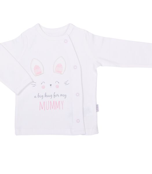 Unisex baby-T-shirt lange mouwen - Mummie