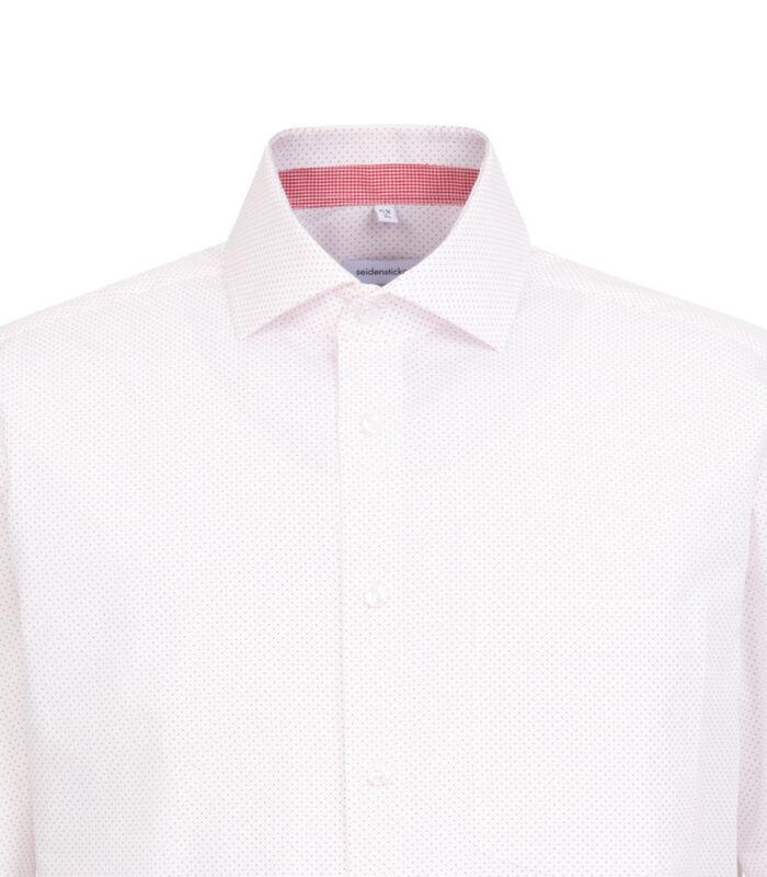 Overhemd Regular Fit Korte mouwen Stippen image number 3