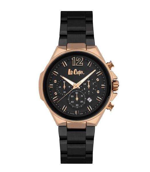 Analoog multifunctioneel horloge metalen armband STEAD