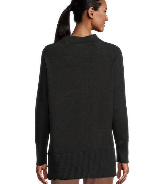 Fijngebreide trui met stras