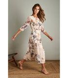 Romantische maxi jurk in rozige tinten image number 0