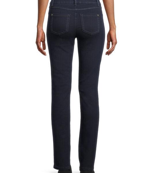 Basic jeans met opgestikte zakken
