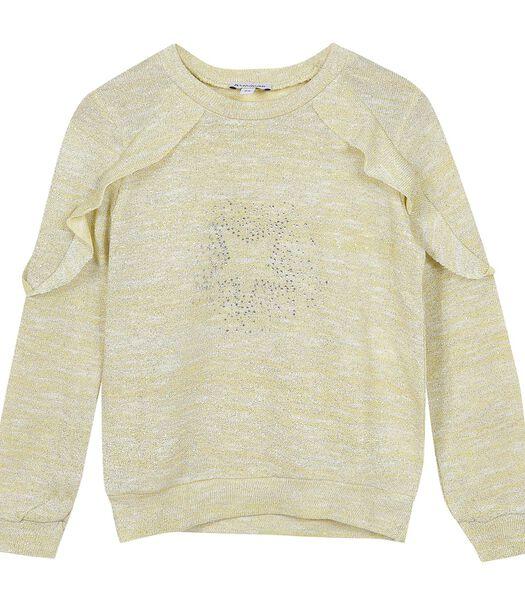 Sweatshirt met ronde hals