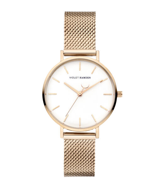 Day & Night Horloge Or rose VH08002