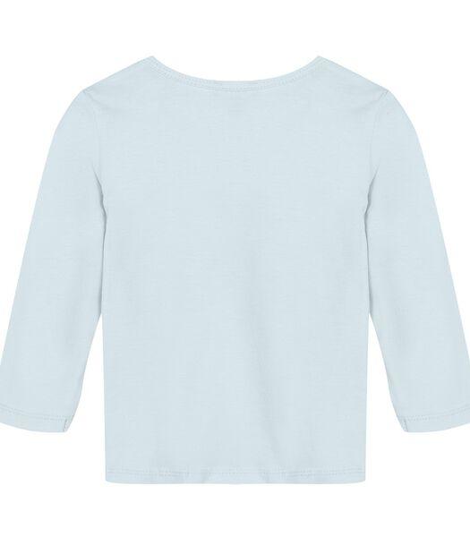 T-shirt manches longues avec motif panda
