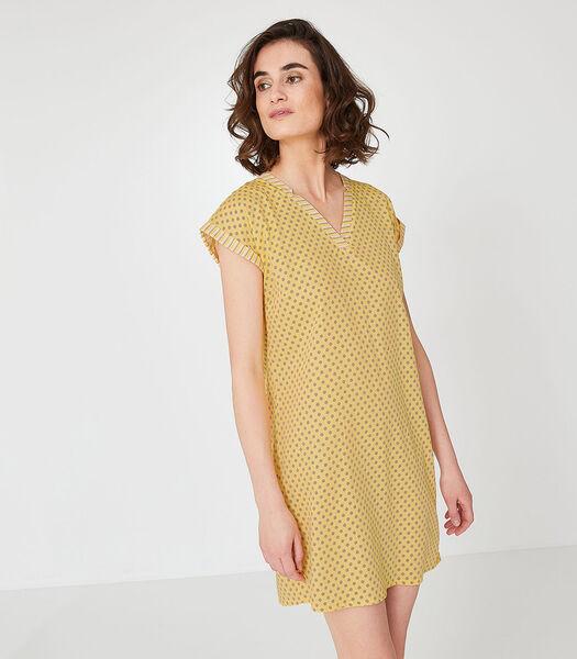 Noa - Kort Nachthemd katoen