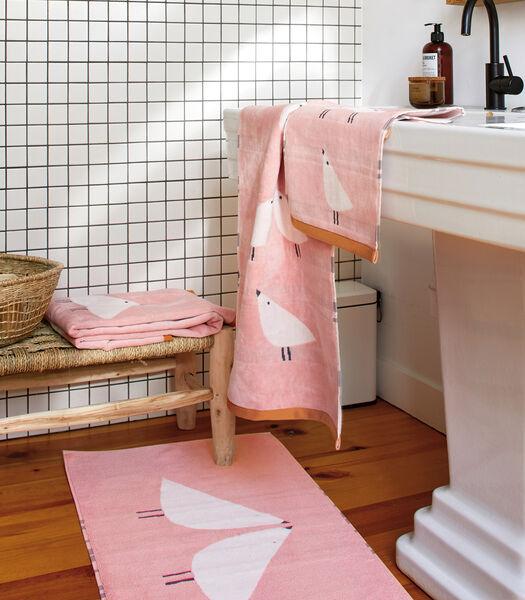 LINTU Blush - Tapis de bain coton