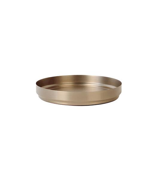 RONDO dienblad small soft copper