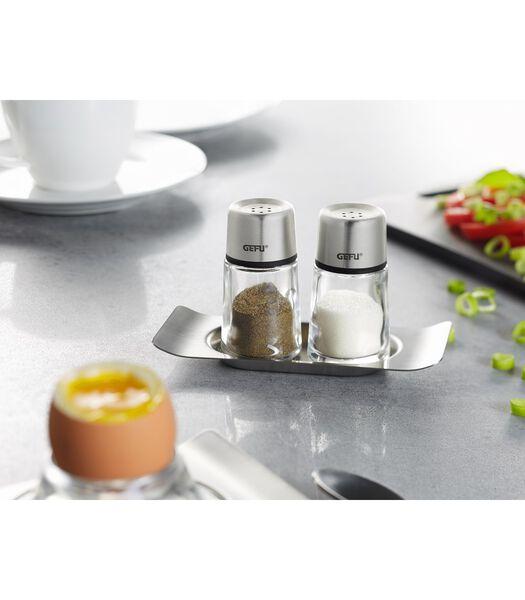 Zout- en peperstrooier set BRUNCH