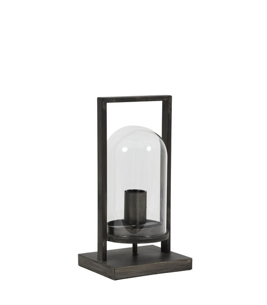 Tafellamp JELLE - antiek zwart