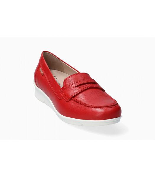 DIVA-Loafers leer
