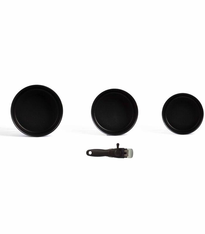Set de 3 casseroles manche amovible image number 2