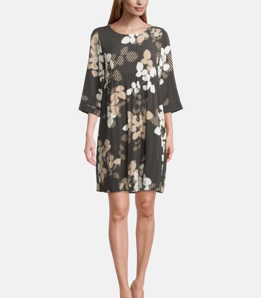 Casual jurk met plissé