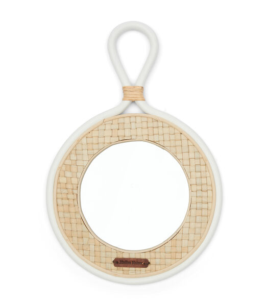Natural Weave Mirror