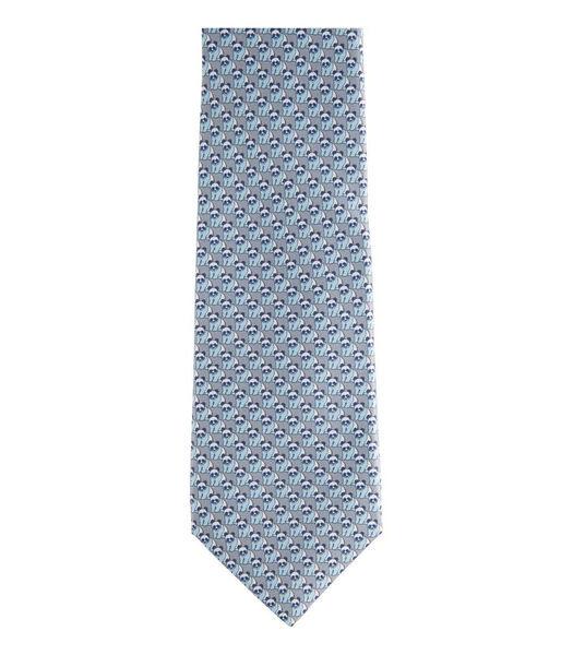 Cravate imprimée petits pandas