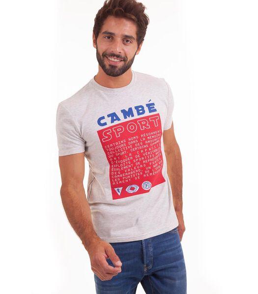 T-shirt met korte mouwen en print