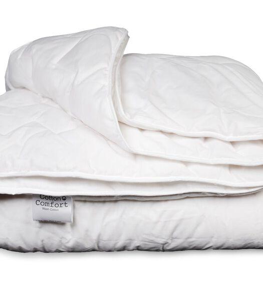 katoenen 4-seizoensdekbed Comfort Wash 1-persoons