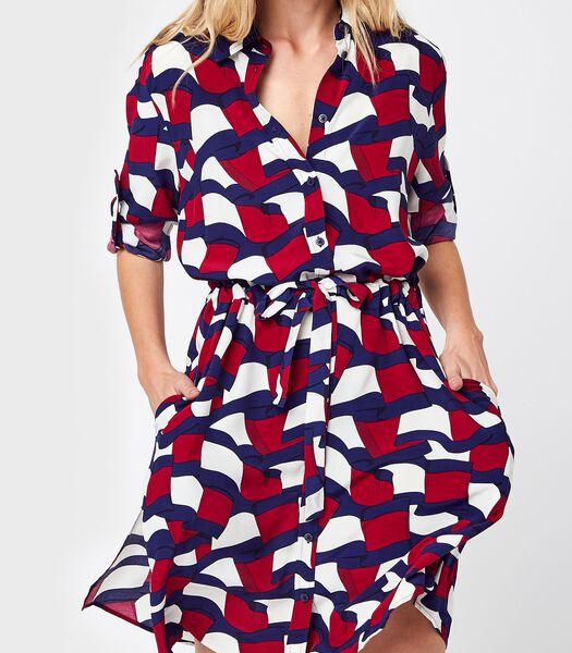 Maxi jurken Multicolor