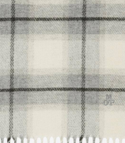 Écharpe en douce laine mélangée