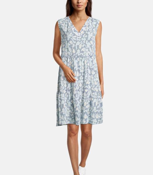 Casual jurk met rimpeling