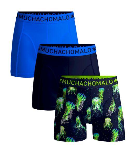 Heren 3-pack - Boxershorts - Jelly Fish