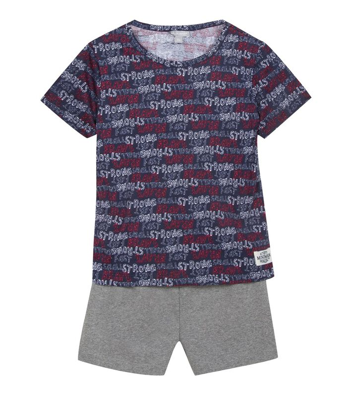 Pyjama garçon maille imprimée image number 0