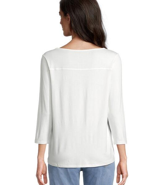 Shirt met 3/4-mouwen