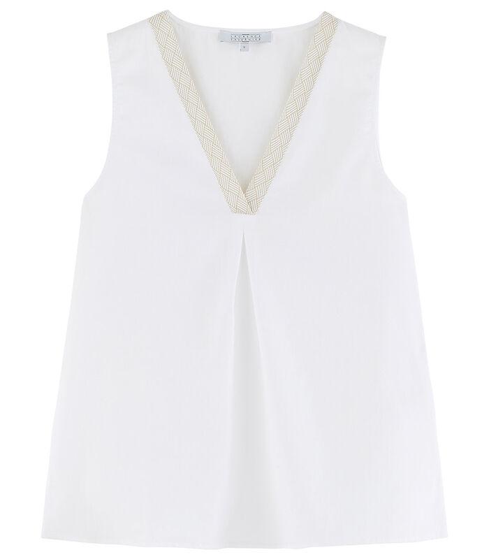 Ubud - Homewear Top zonder mouwen katoen image number 2