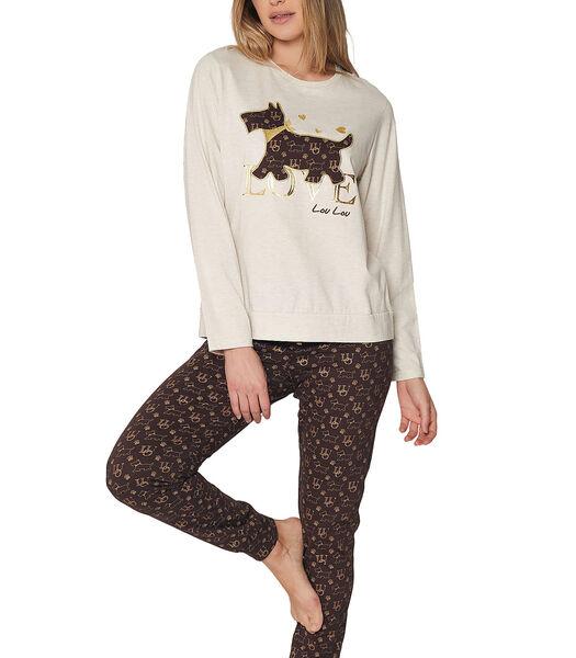 Pyjama's homewear broek top Loulou Love