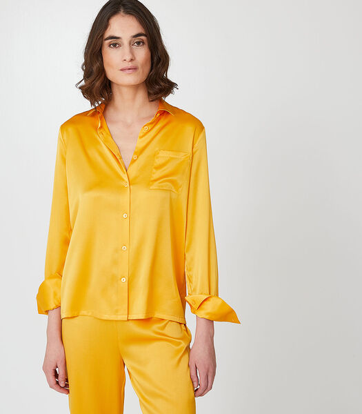 Ysia - Homewear hemd zijde