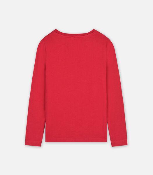 T-shirt lange mouwen Rood