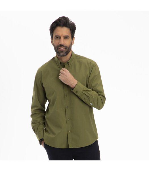 Overhemd  katoen button down kraag CERGY