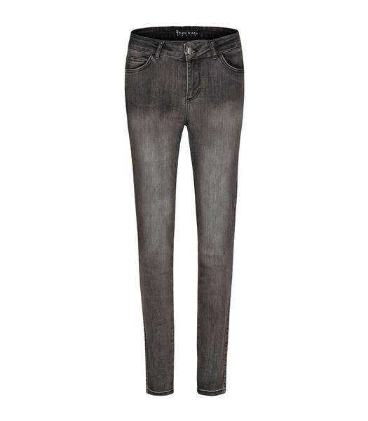 Hoge taille slanke jeans STREET