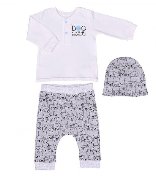 3-delige baby kledingset in organisch katoen - Best