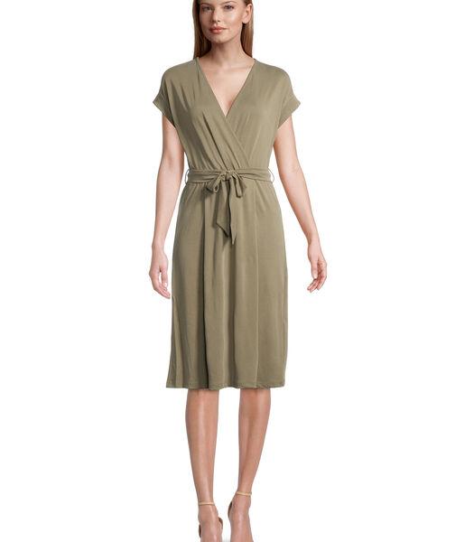 Jersey jurk zonder mouwen