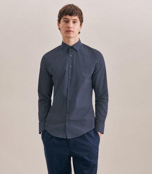 Overhemd X-Slim Fit Lange mouwen Print