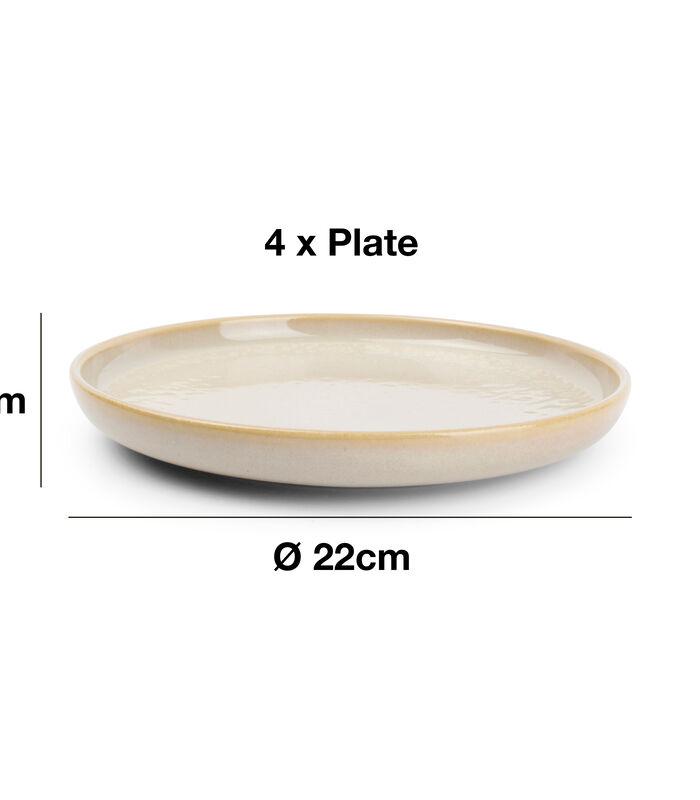 Servies 12-delig beige Tabo image number 3