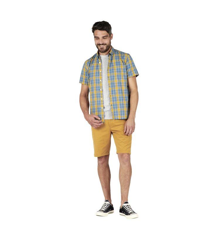 Geruit hemd met korte mouwen COSTAL image number 0