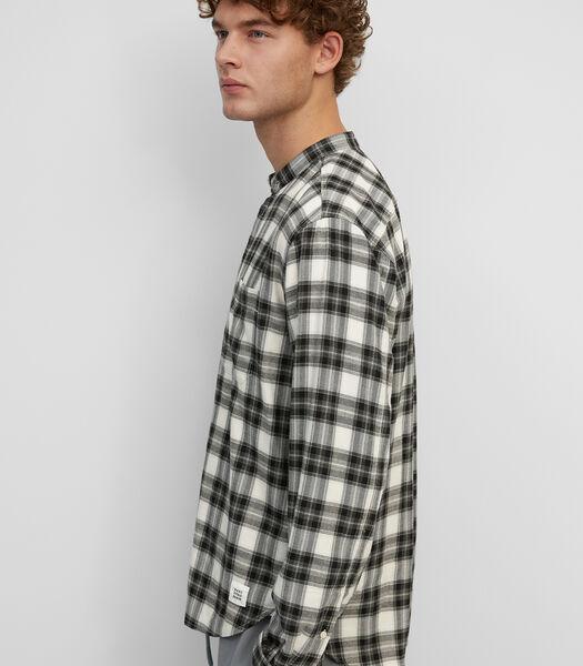 Chemise à manches longues de coupe surchemise